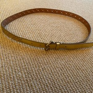 Women's J. Crew Gold Belt, Size Small